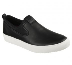LEATHER SLIP ON/ NEOPRENE COM 10